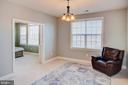 Sitting room at master bedroom - 18607 MONTAGUE PL, PURCELLVILLE
