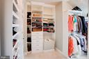 Walk in closet 1 of 2 in master - 18607 MONTAGUE PL, PURCELLVILLE