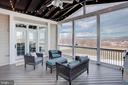 Screened porch with stunning views - 18607 MONTAGUE PL, PURCELLVILLE