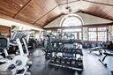 Exercise center adjacent to pool area. - 18421 GREEN ISLAND TER, LEESBURG