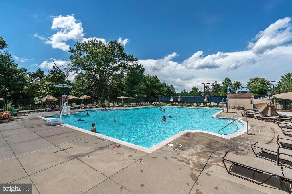 There are 3 community pools (one for adults only). - 18421 GREEN ISLAND TER, LEESBURG