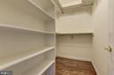 Walk-in master closet #1  (His) - 18421 GREEN ISLAND TER, LEESBURG