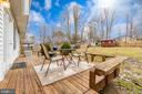 Spacious deck for peaceful outdoor living. - 3 BRYANT BLVD, STAFFORD