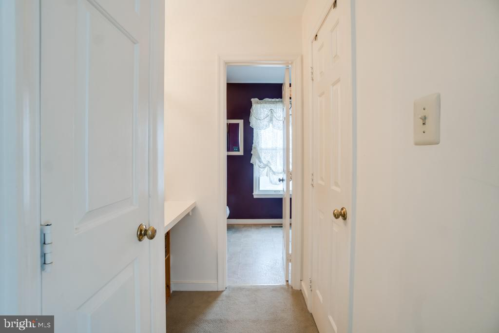 Hallway in master bedroom to bath - 3 BRYANT BLVD, STAFFORD