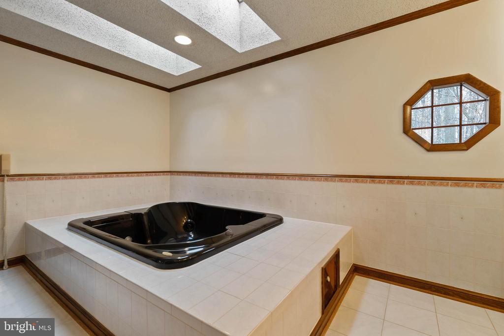 Master bath with 2 sky-lights - 13459 FOWKE LN, WOODBRIDGE