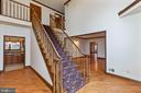 Two story Entry Foyer - 13459 FOWKE LN, WOODBRIDGE