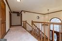 Open hallway on Bed Room Level - 13459 FOWKE LN, WOODBRIDGE