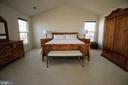 Master Bedroom - 42658 HARRIS ST, CHANTILLY