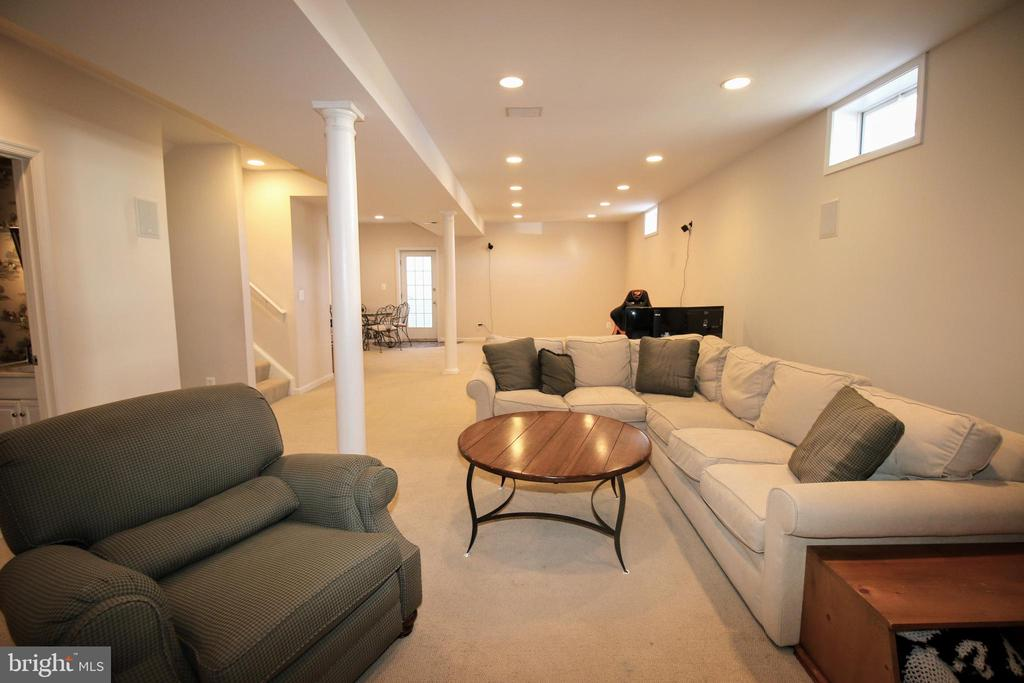 Basement Family Room - 42658 HARRIS ST, CHANTILLY