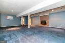 Basement Recreation room - 13459 FOWKE LN, WOODBRIDGE