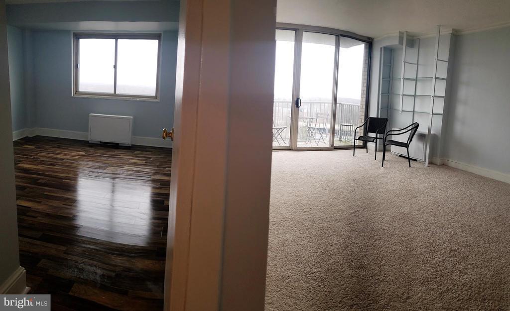 Bedroom/living room - 2500 N VAN DORN ST #909, ALEXANDRIA