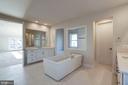 Annefield Master bath - 24462 CAROLINA ROSE CIR, ALDIE