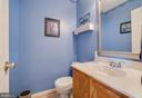 Main level powder room - 3 BRYANT BLVD, STAFFORD