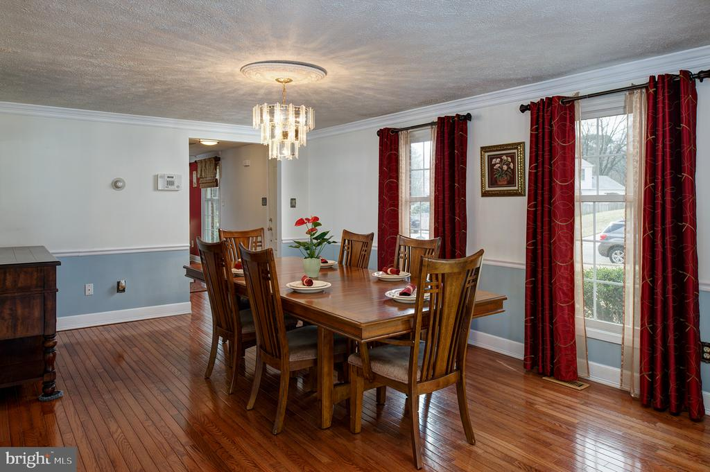 Another view of Dining room - 3295 BLUE HERON DR, FALLS CHURCH