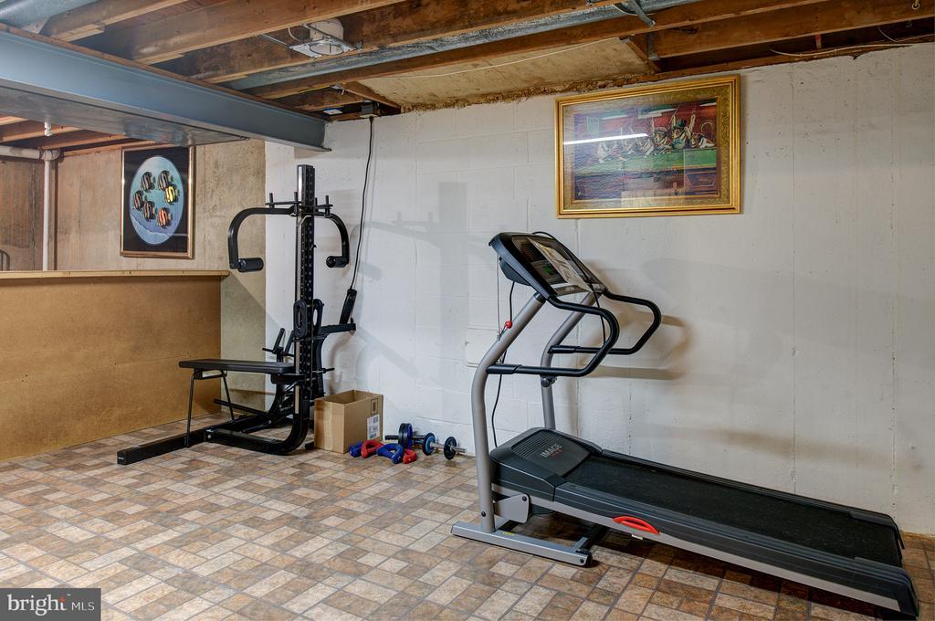 Workout room, equipment conveys - 3295 BLUE HERON DR, FALLS CHURCH