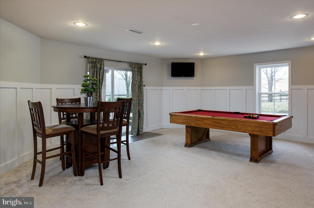 Recreation room - 6717 ECKERT CT, WARRENTON