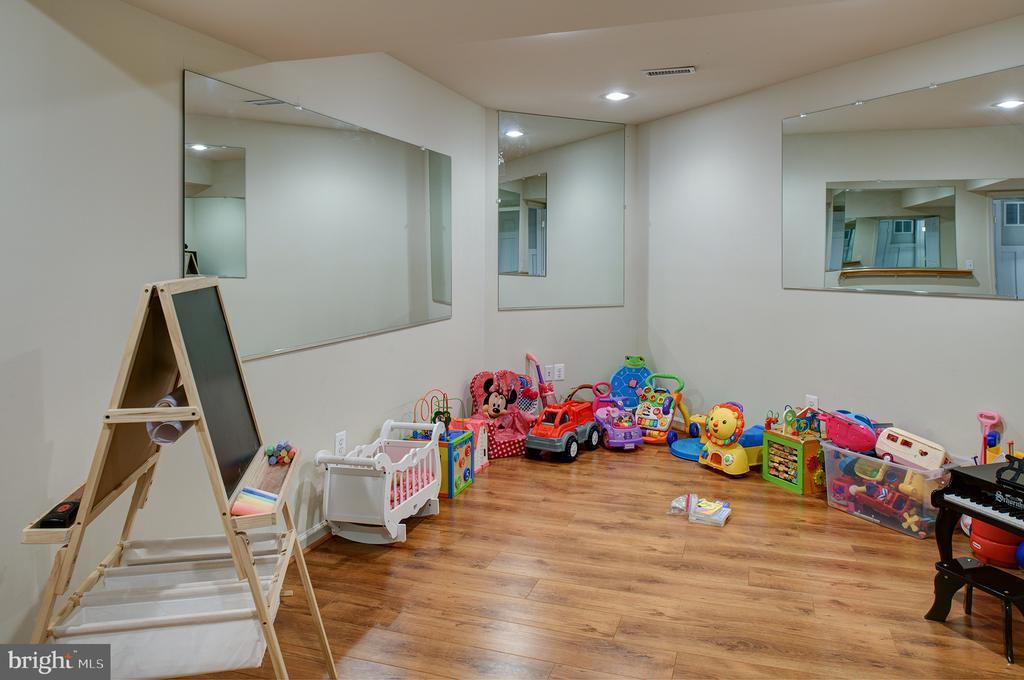 Lower level gym, playroom...you decide! - 6717 ECKERT CT, WARRENTON