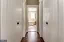 double closet lead to master bath - 1307 N GEORGE MASON DR, ARLINGTON