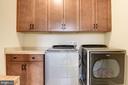 bedroom level laundry room - 1307 N GEORGE MASON DR, ARLINGTON