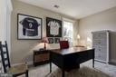 4th bedroom on lower level - 1307 N GEORGE MASON DR, ARLINGTON