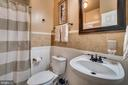Luxurious powder room/full bath - 42922 PALLISER CT, LEESBURG