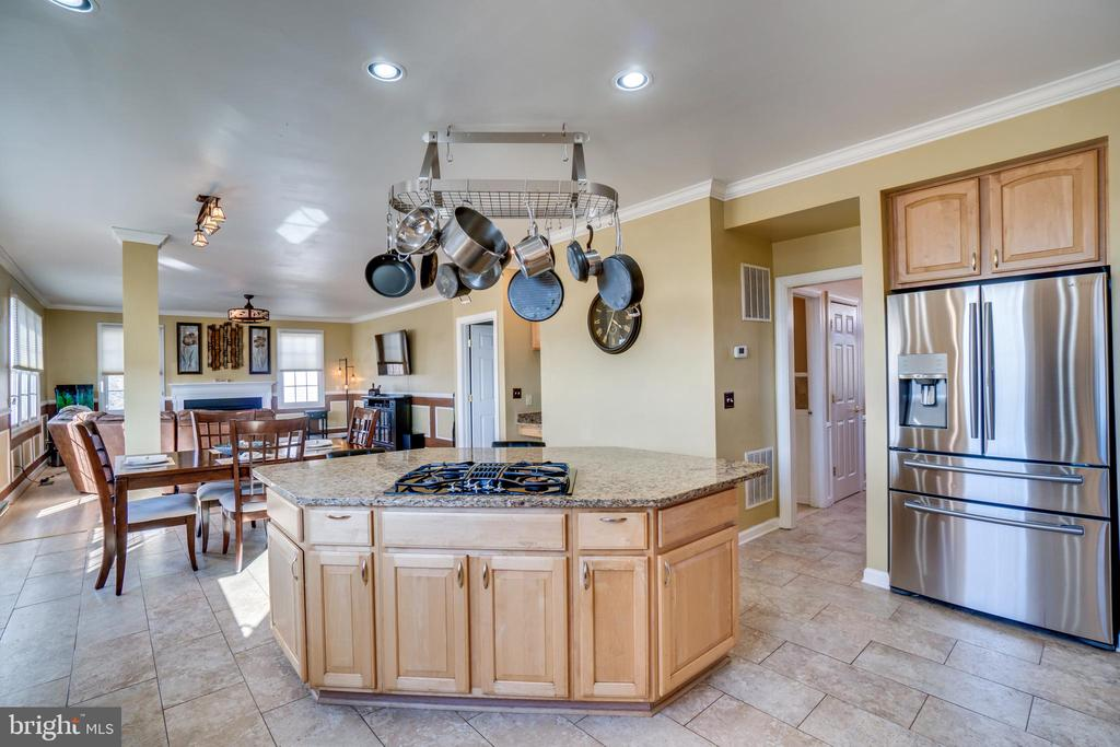 Granite counters, stainless steel appliances - 42922 PALLISER CT, LEESBURG