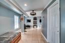 Basement bdrm (currently being used as game room) - 42922 PALLISER CT, LEESBURG