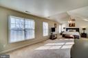 Huge master bedroom with lots of windows - 42922 PALLISER CT, LEESBURG