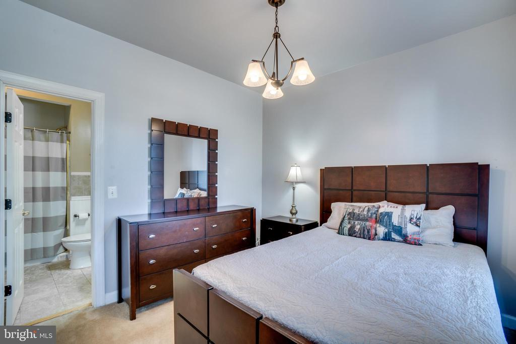 Main level bedroom/study leads to full bath! - 42922 PALLISER CT, LEESBURG