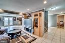 Fully finished basement renovated in 2016 - 42922 PALLISER CT, LEESBURG