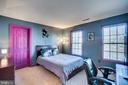 Princess suite with walk-in closet - 42922 PALLISER CT, LEESBURG