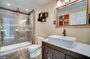 Stunning full bath in basement! - 42922 PALLISER CT, LEESBURG