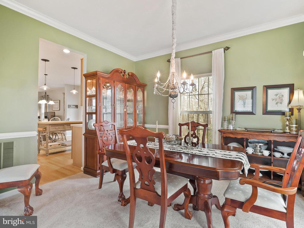 Formal Dining Room - 5629 EPPES ISLAND PL, MANASSAS