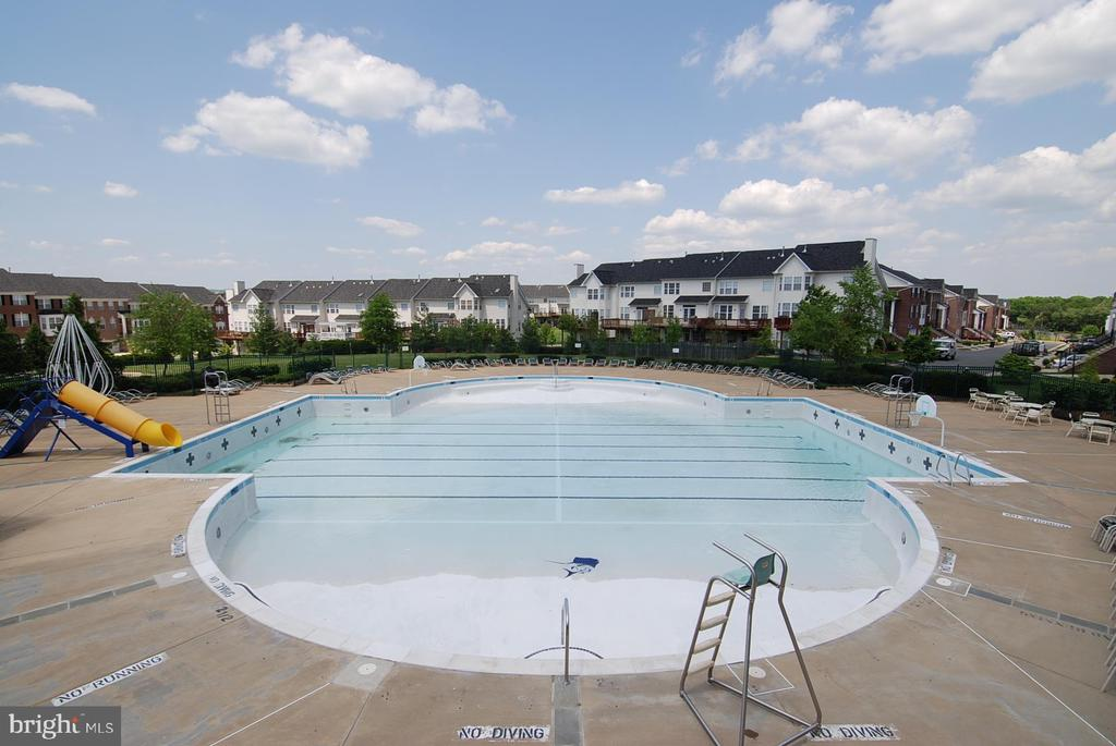 Outdoor swimming pool - 42922 PALLISER CT, LEESBURG