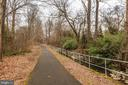 View of the Rock Spring park path. - 4853 30TH ST N, ARLINGTON
