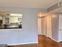 Foyer/Kitchen/Dining - 22 COURTHOUSE SQ #407, ROCKVILLE