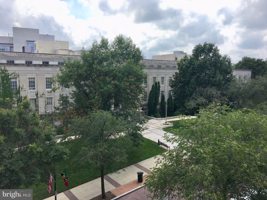 View From Balcony - 22 COURTHOUSE SQ #407, ROCKVILLE