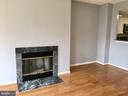 Fire Place in Living Room - 22 COURTHOUSE SQ #407, ROCKVILLE