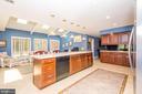 10' long Kitchen Island - 5916 HALLOWING DR, LORTON
