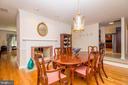 Formal Dining Room - 5916 HALLOWING DR, LORTON