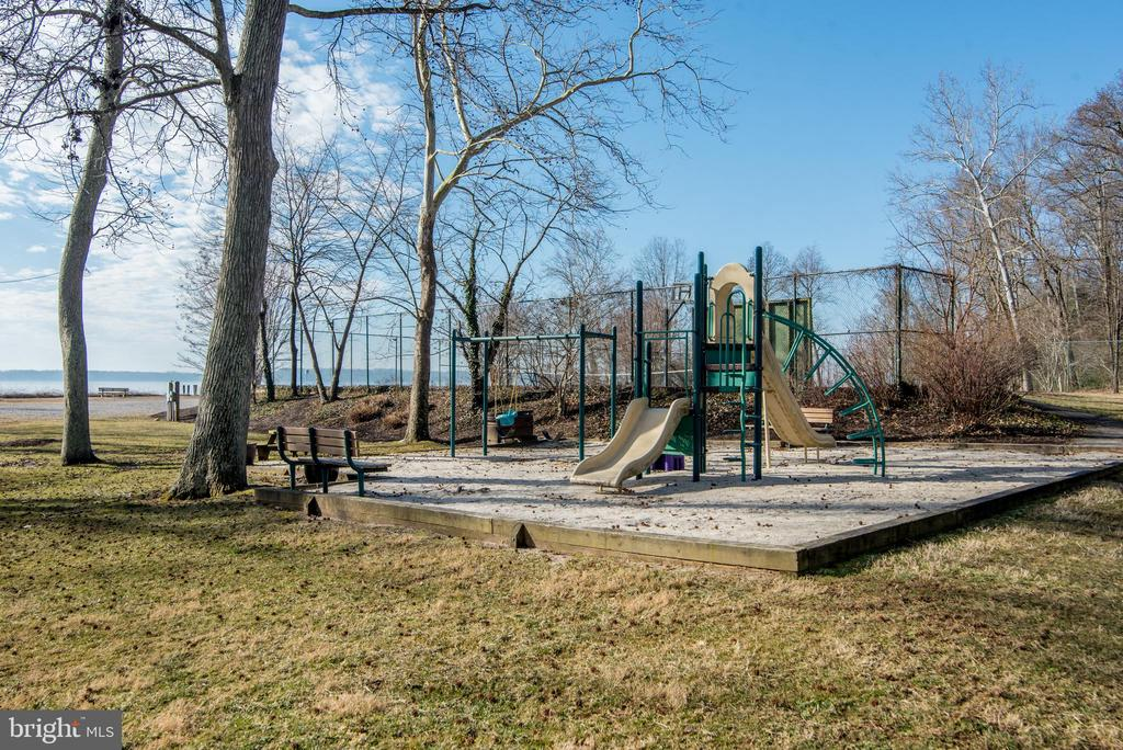 Community playground and river view - 5916 HALLOWING DR, LORTON