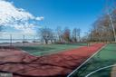 Community tennis & river view - 5916 HALLOWING DR, LORTON