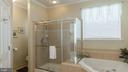 Master Bath with Jacuzzi Tub & Separate Shower - 17473 FOUR SEASONS DR, DUMFRIES