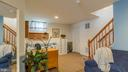 Open Area at Bottom of Staircase - 17473 FOUR SEASONS DR, DUMFRIES
