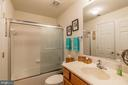 Full Bath on Lower Level - 17473 FOUR SEASONS DR, DUMFRIES