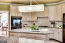 Gourmet Kitchen withisland - 10522 DUNN MEADOW RD, VIENNA