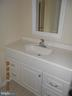 Bathroom w/new vanity - 1405 KEY PKWY #101, FREDERICK