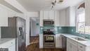 Kitchen With Stainless Steel Appliances - 15 OLD FORT LN, STAFFORD