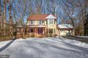 Serene setting w wrap around porch & spacious yard - 549 DRUID HILL RD NE, VIENNA