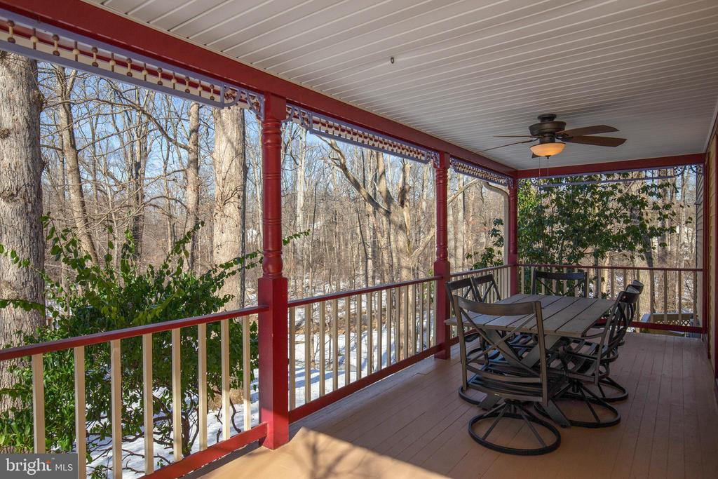 Cozy, quiet and gorgeous views from your porch - 549 DRUID HILL RD NE, VIENNA